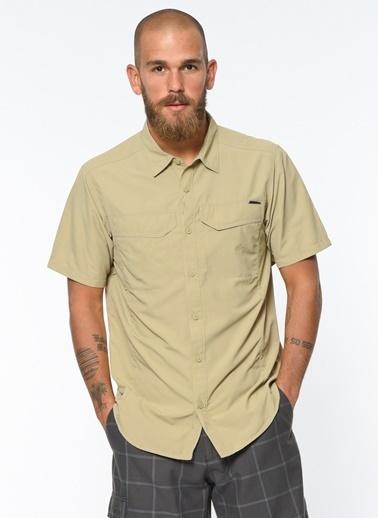 Kısa Kollu Slim Fit Gömlek -Columbia